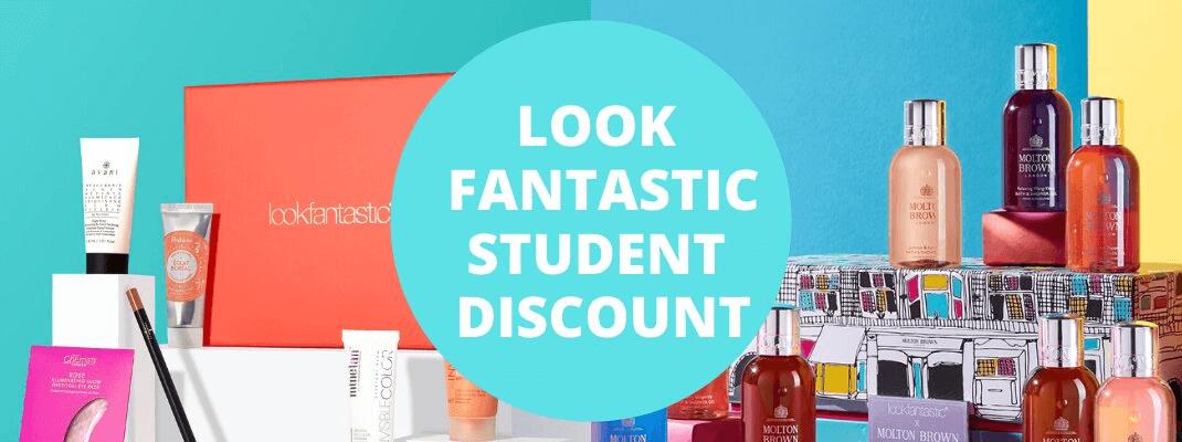 look fantastic student discount