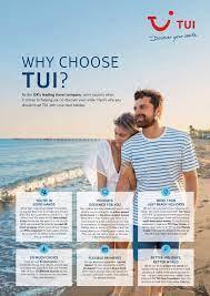 why chose tui?