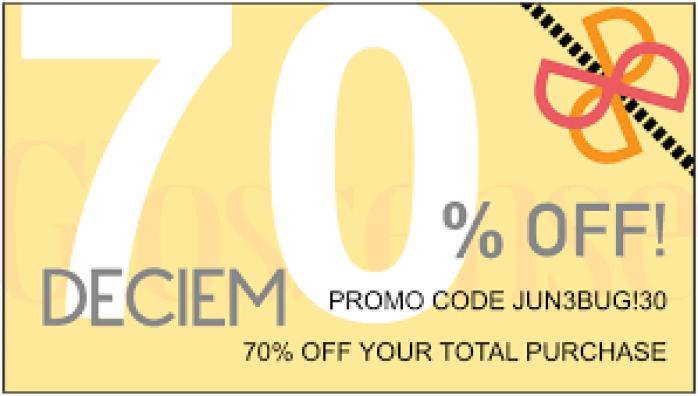 Deciem offers
