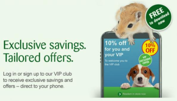 NHS Pets at home deals