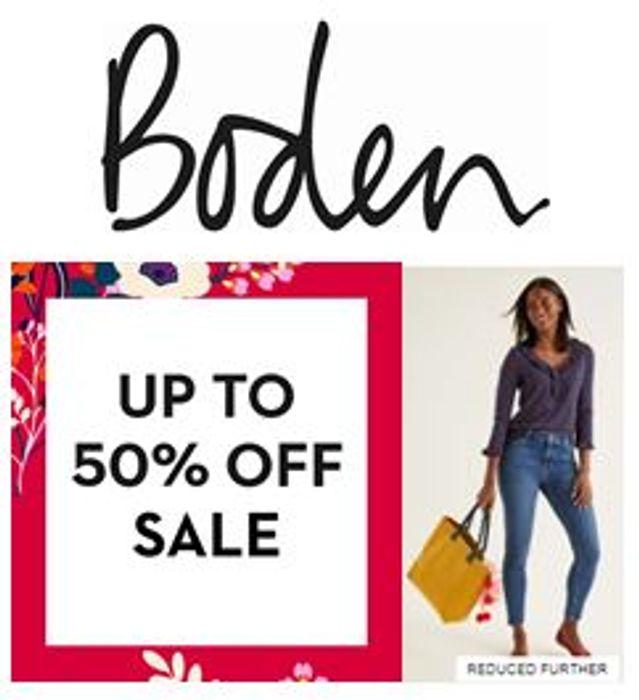 Boden discount code